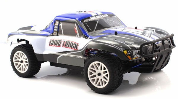 Himoto Corr Truck 4x4 2.4GHz RTR (HSP Rally Monster) - niebieski