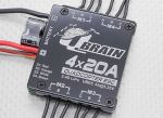 Regulator Obrotów ESC Quadcopter Q Brain 4 x 20A 2-4S 3A SBEC