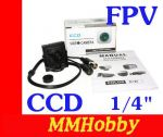 "Kamera FPV HD 700TVL 1/4"" CCD PAL 3.6mm"