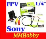 "Kamera FPV HD 700TVL 1/4"" SONY PAL 3.6mm"