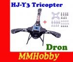 Rama Tricoptera Dron HJ-Y3 Tricopter Three-axis Y3