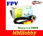 "Kamera FPV 550TVL Sharp 1/4"" CMOS PAL Otworowa 3.6mm  #14"