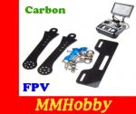 Uchwyt Adapter Montażowy Monitora FPV Carbon Dron