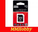 Karta GOODRAM microSDHC 16GB class 10 UHS-I + adapter SD