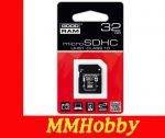 Karta GOODRAM microSDHC 32GB class 10 UHS-I + adapter SD