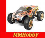 HSP Brontosaurus Pro 1:10 2.4 Ghz 4X4 MONSTER TRUCK- pomarańczowy