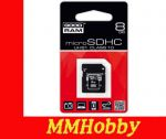 Karta GOODRAM microSDHC 8GB class 10 UHS-I + adapter SD