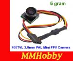 Kamera 700TVL 2.8mm PAL Format Mini FPV Camera #15