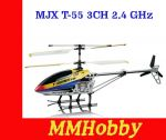 Helikopter RC MJX T-55 3CH 2.4 GHz (64 cm)