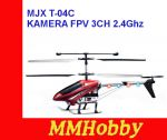 Helikopter RC MJX T-04C KAMERA FPV 3CH 2.4Ghz