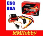 Regulator obrotów ESC Turnigy Trackstar 80A Turbo SENSOR  Brushless 1/12th 1/10th ROAR approved