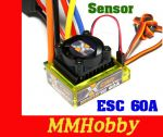 ESC HobbyKing® ™ X-Car 60A Brushless Car ESC sensored/sensorless