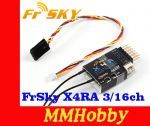 Odbiornik FrSky X4RA 3/16ch 2.4Ghz ACCST Receiver w/S.BUS, Smart Port & telemetry (2015 EU version)