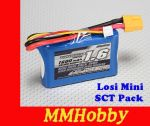 Turnigy 1600mAh 2S 7.4V 20C Losi Mini SCT Pack #2