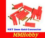 Konektory HXT 2mm Gold Connector
