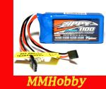 ZIPPY Flightmax 1100mAh 6.6V 5C LiFePo4 Reciever Pack